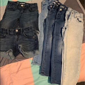 Girl's Shorts & Jeans